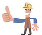 Your contractor forms should have the correct company name.