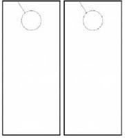 door hangers for construction