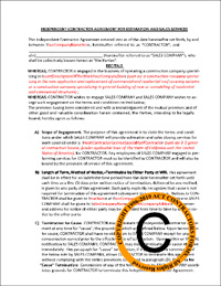 Contractor-Independent-Salesperson-Agreement
